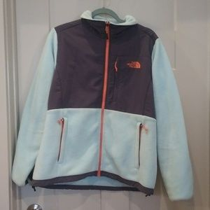 North face  blue jacket size Large